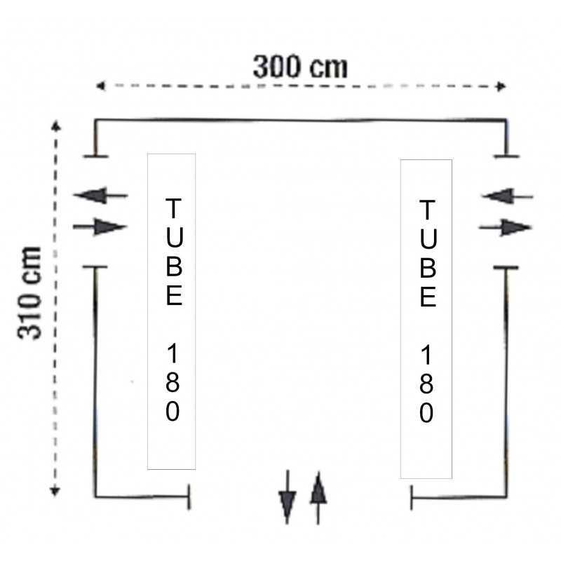 TUBE RECIFE 180