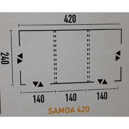 PACK COMPLET TUBE  SAMOA 350