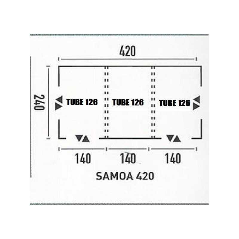 PACK COMPLET TUBE  SAMOA 420